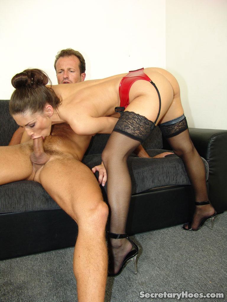Русский секс секретарь