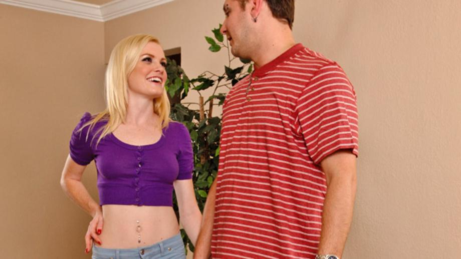 Wife teasing friend in lingerie