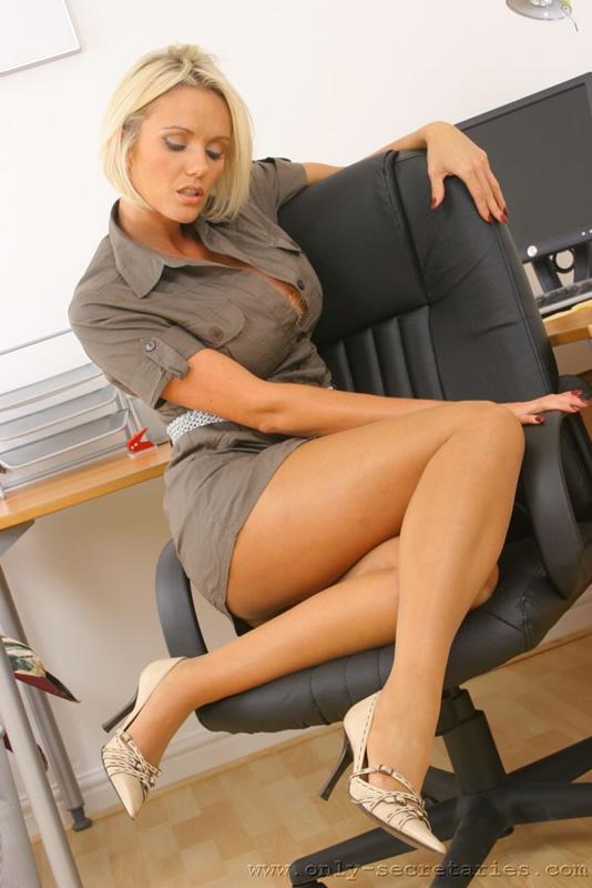 Big Tits Blonde Office Fuck