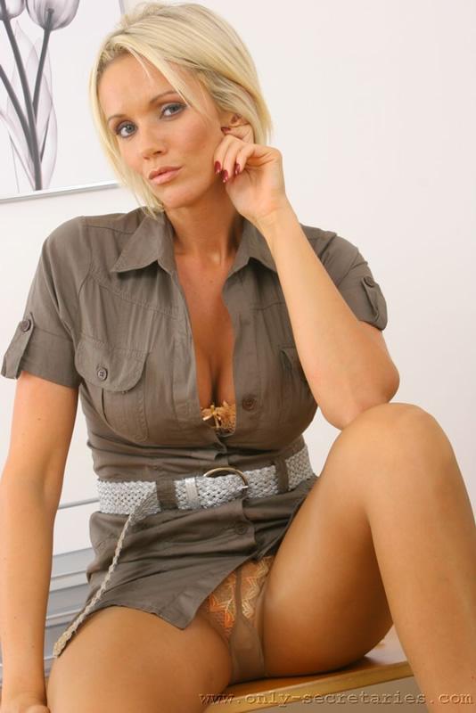 Hot Blonde Milf Doggystyle