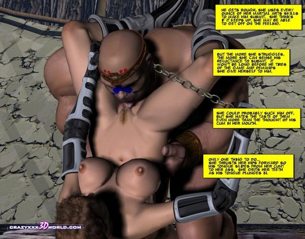3d porno. 3d bondage art. - Picture 12