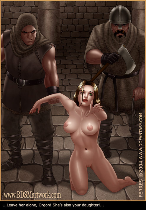 Bdsm cartoons. Slavegirls as booty of war. Great art - Picture 12