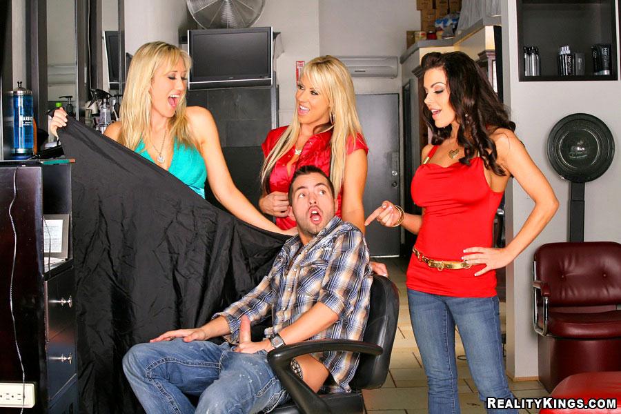 The Barber Shop Porn