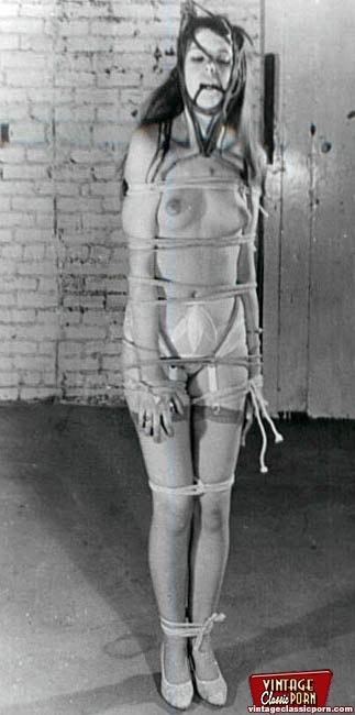 Vintage bondage porn