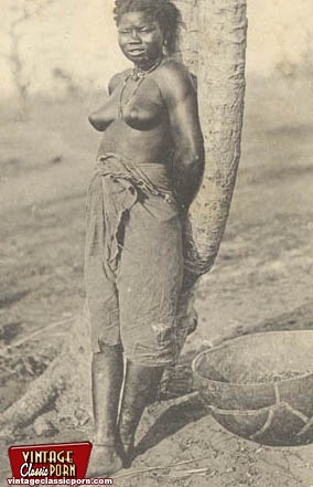 Vintage black babes from all over the world posing nude