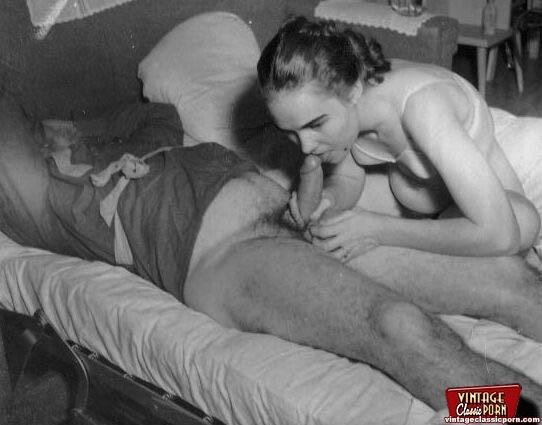 50s vintage swinger - Vintage classic porn. Several sexy fifties - XXX Dessert - Picture 3