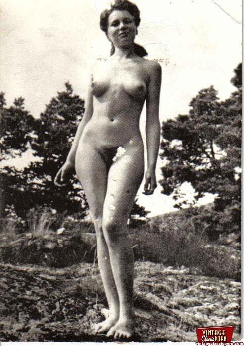 Ретро фото голых баб