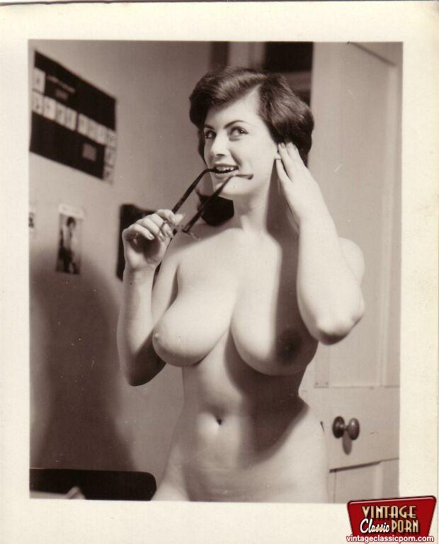 Xxx Classic Porn Busty Natural Vintage Gir - Xxx Dessert -4970