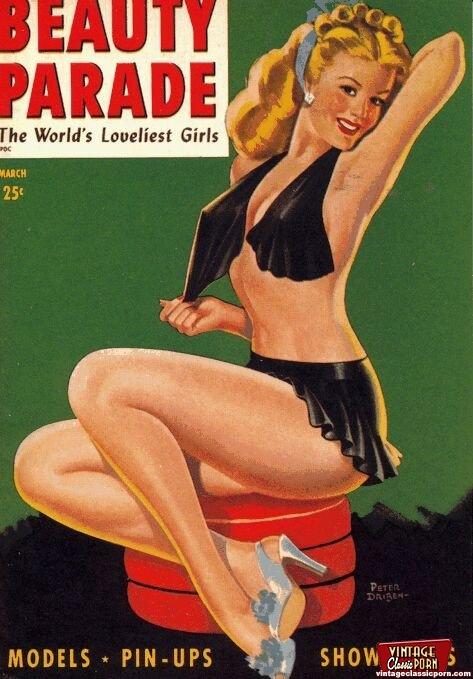 The world edition vintage retro classic porn magazines