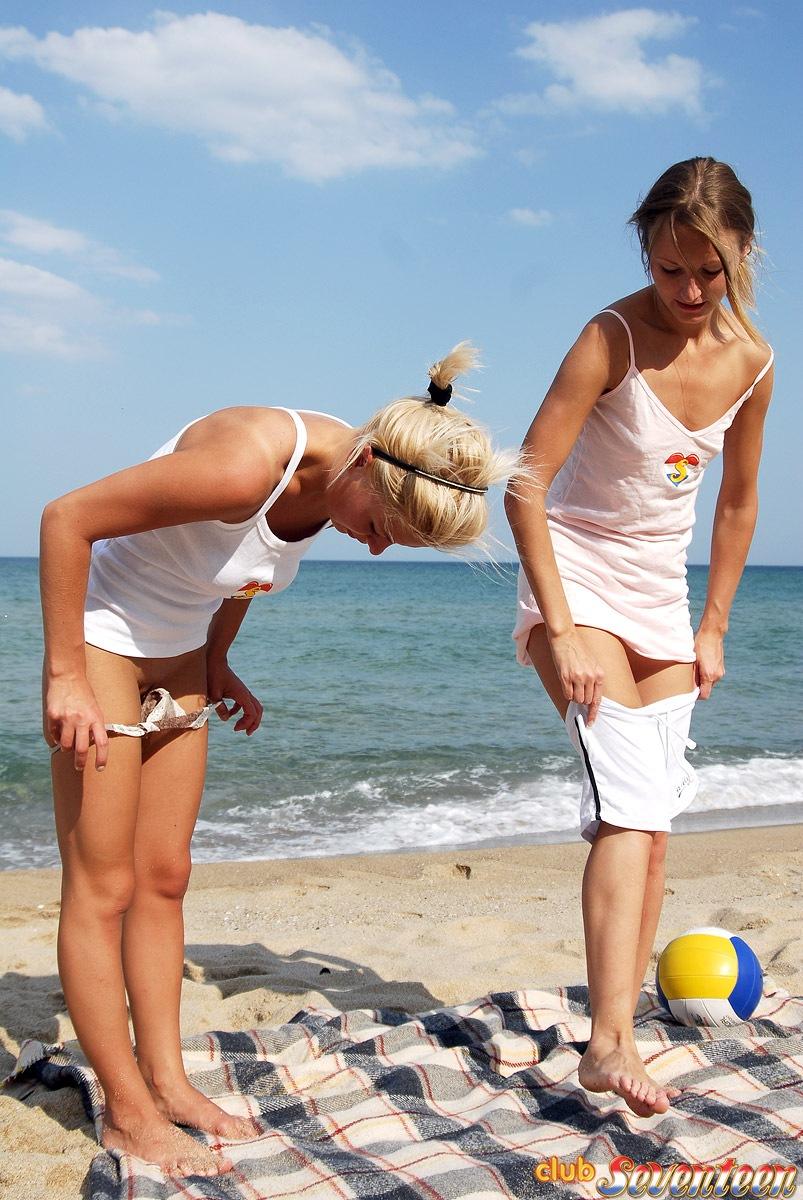 Nude girls beach soccer games