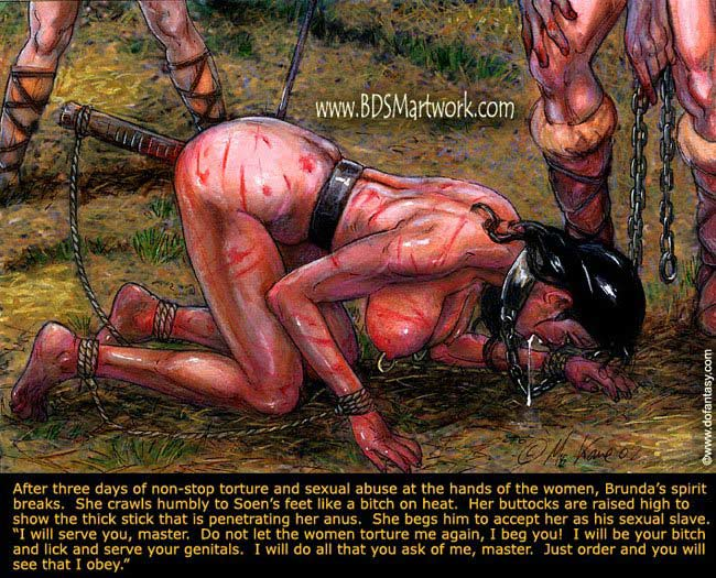 Free bdsm comics. Some torture and wacking does not - Picture 6