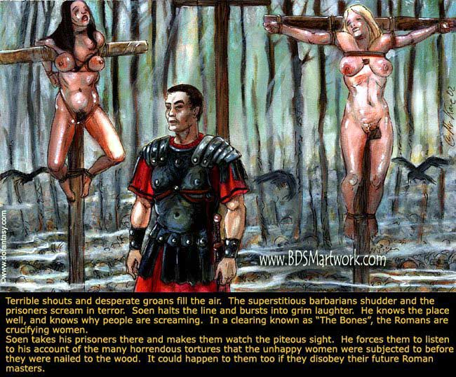 Free bdsm comics. Some torture and wacking does not - Picture 9