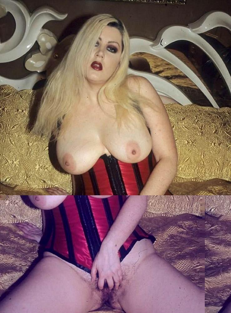 Hairy vagina. Sexy blonde plumper flaunts h - XXX Dessert - Picture 2