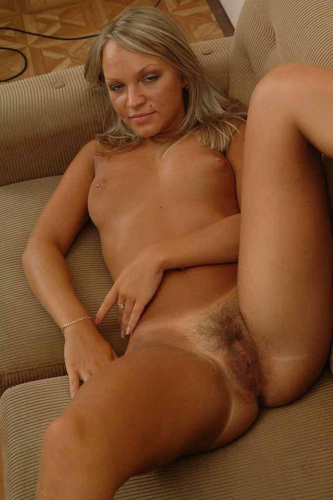 Horny Hairy Pussy Sexy Blonde Naked On The - Xxx Dessert - Picture 18-6313