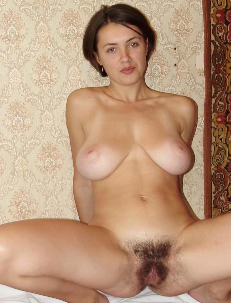 Hairy Solo Girl Masturbation