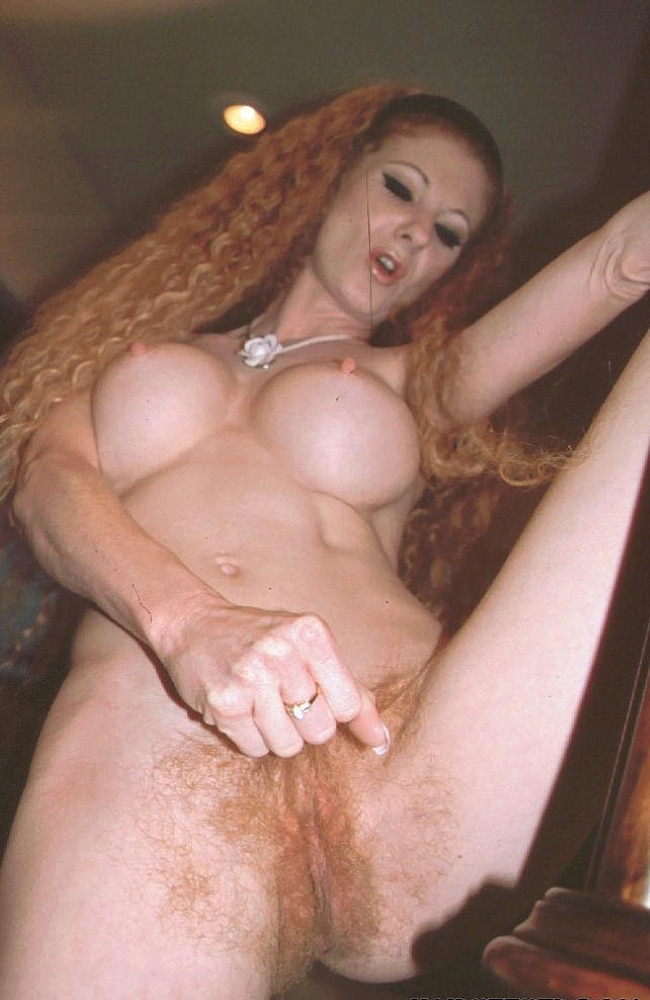 Busty Babe Annie Body Getting Fucked Her Red Bush Pussy
