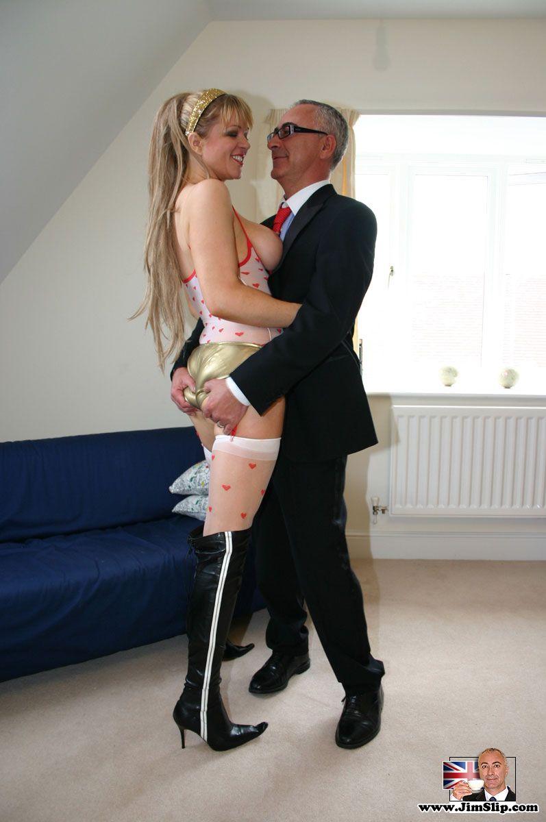 Young Girl Seduce Old Man