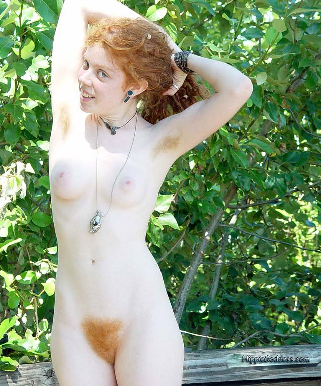 Hairy gallery. Naked Redhead Hippie girls s - XXX Dessert ...