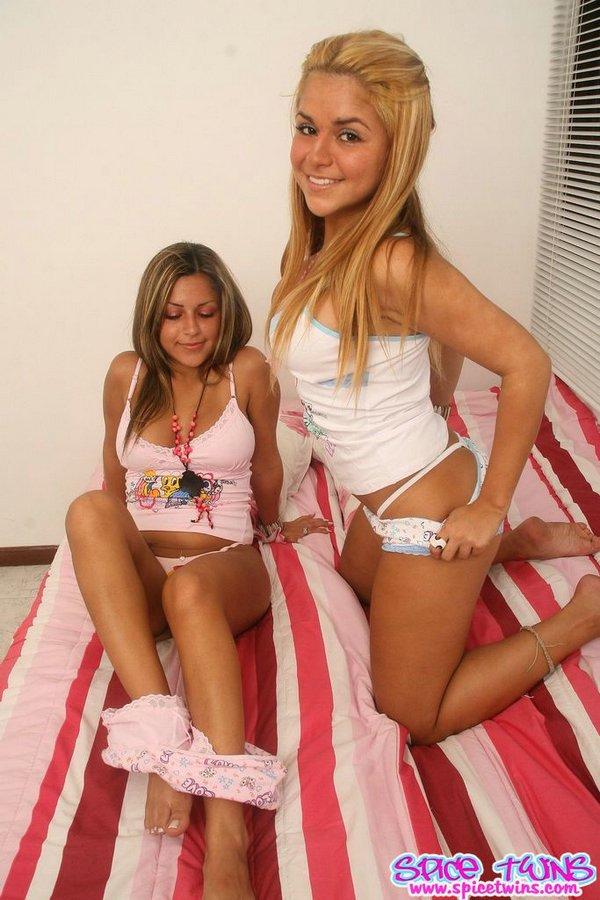 Naked girls twins sleeping