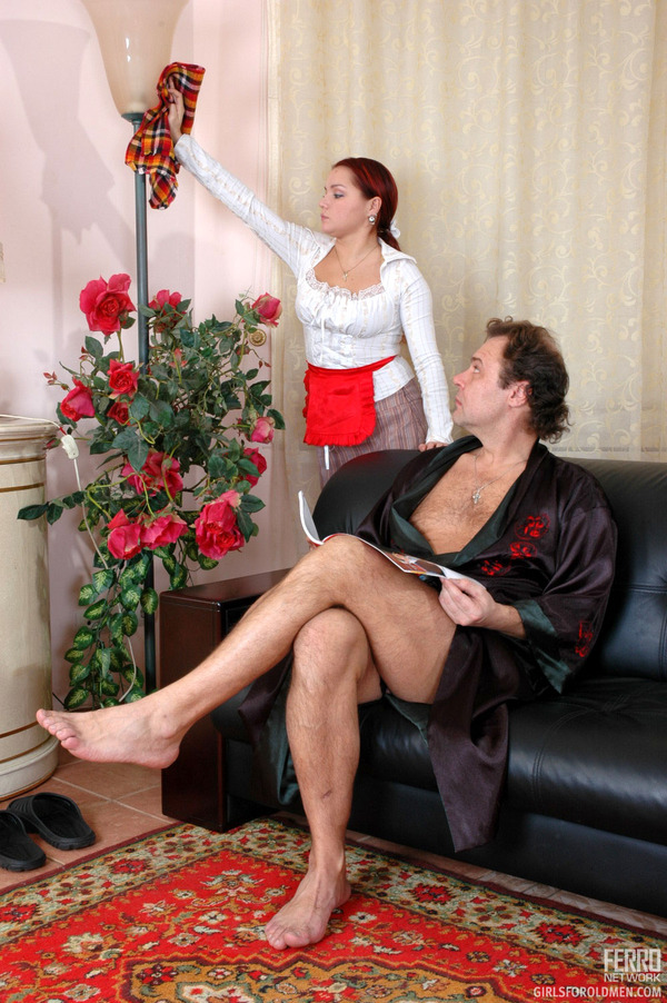 Domestic Chores Porn - Older man young women sex. Young maid inter - XXX Dessert ...