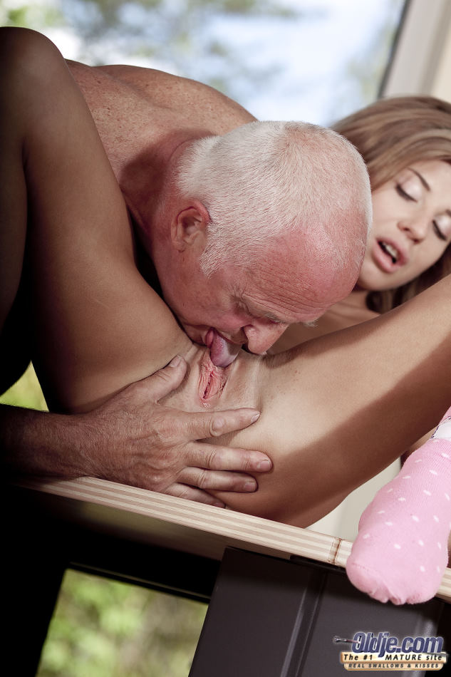 disturbing young and old porn