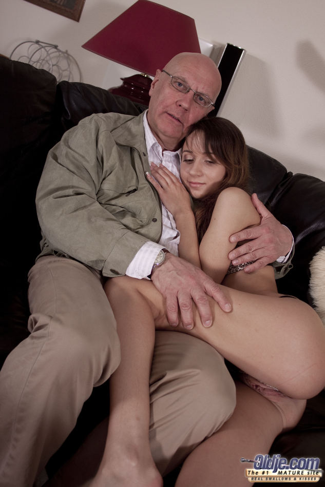 Makes ugly old man fuck sexy girl