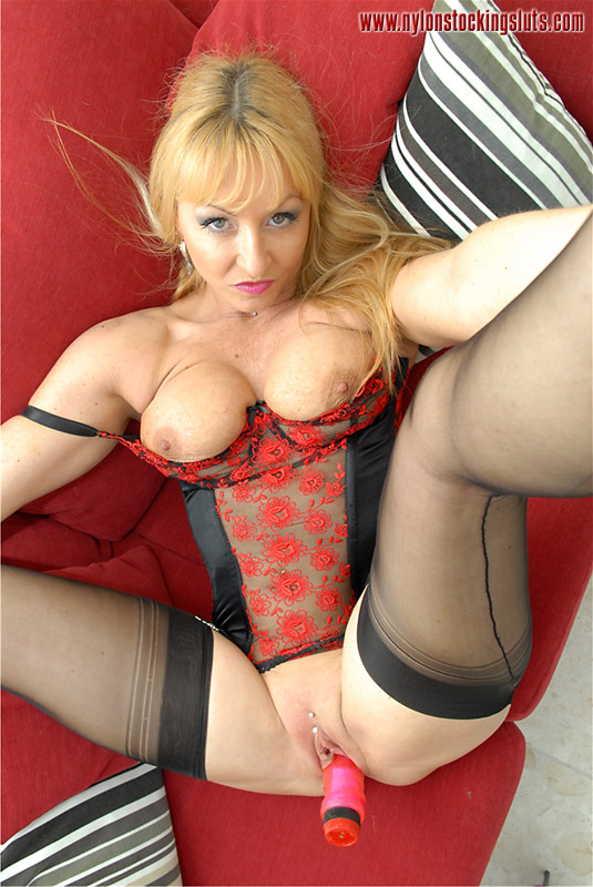 Hot ladies in nylons