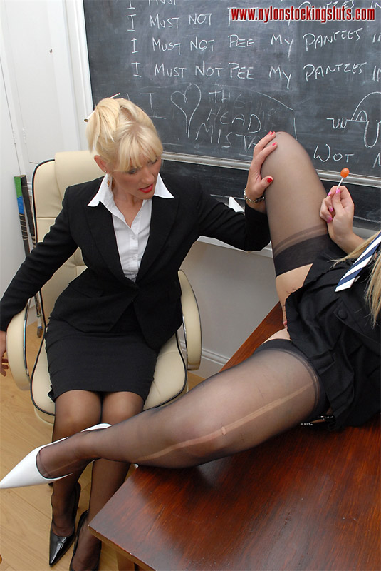 Two Blonde Cock Hungry Lesbians In Black Ny - Xxx Dessert -3034