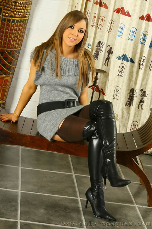 Pantyhose And Boots Porn