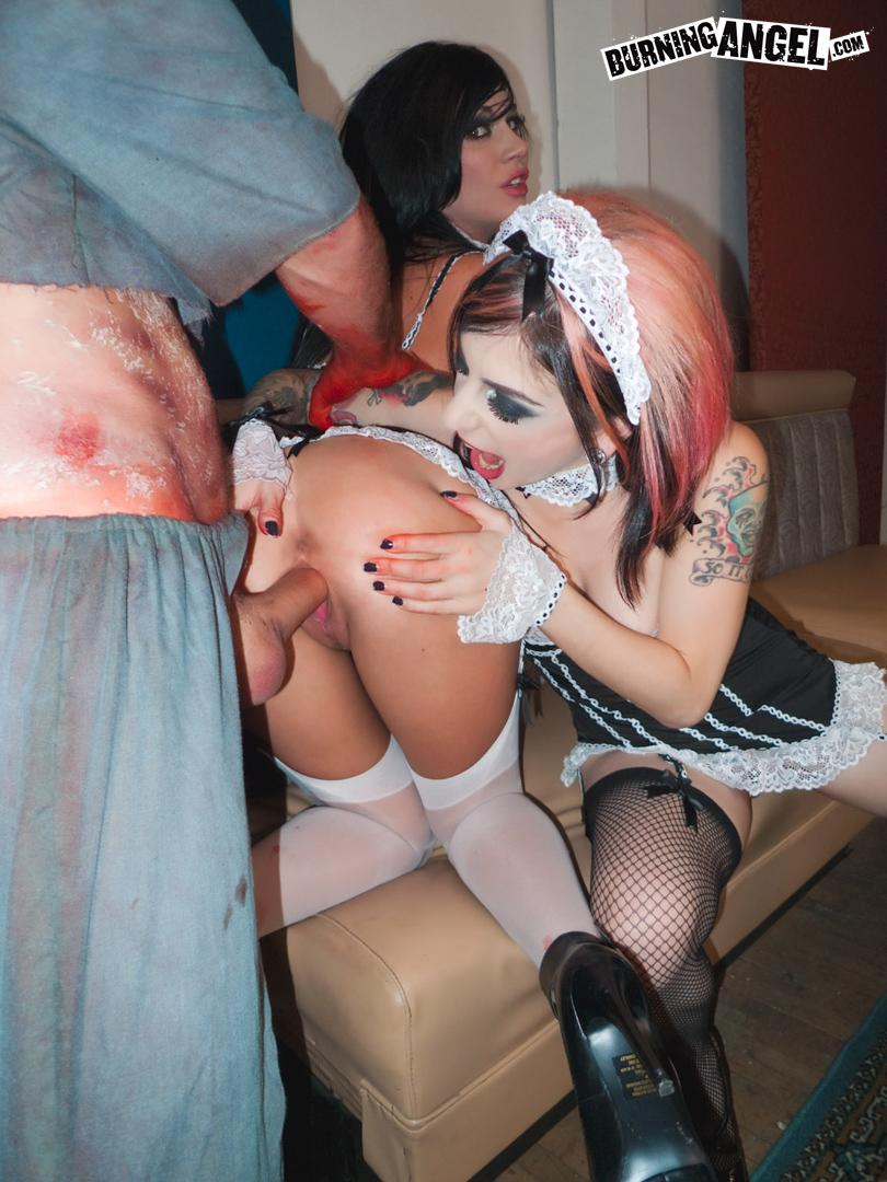 Andy San Dimas Porn andy san dimas & joanna angel fuck a zombie - xxx dessert