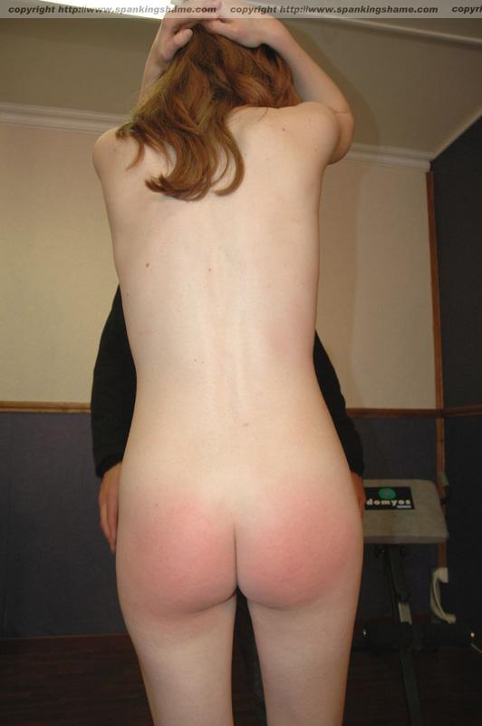 Naked irish girls bent over ass