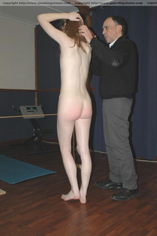 Naked women giving men hand jobs