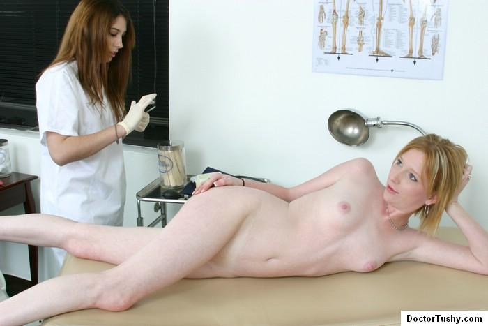 Doctor And Nurse Examine A Hot Naked Girl - Xxx Dessert -4030
