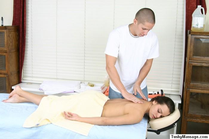 Deep tissue anal massage