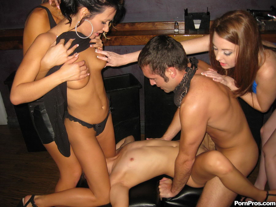 Three drunk party babes going wild and deci - XXX Dessert ...