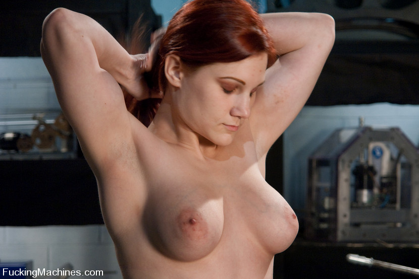 Fucking machine. Amateur red head babe with - XXX Dessert - Picture 4