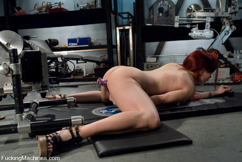 Fucking machine. Amateur red head babe with - XXX Dessert - Picture 13