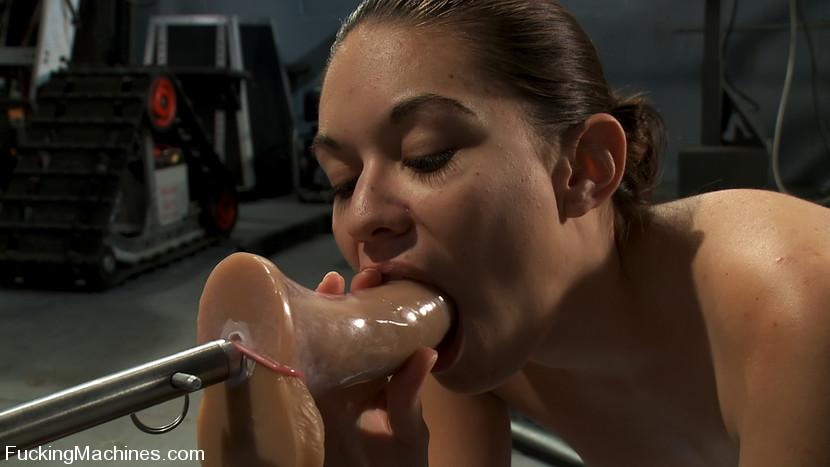 Machine sex galleries. Amateur girl has lif - XXX Dessert - Picture 8
