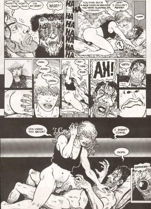 Cartoon Porn Comic Story