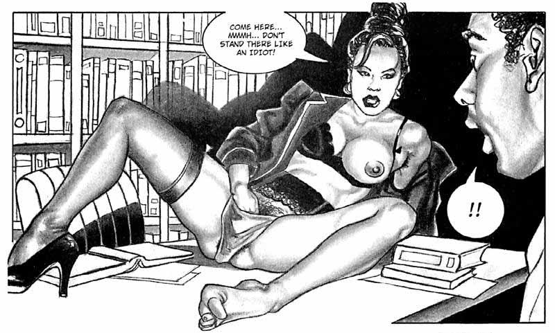 Italian porn comics