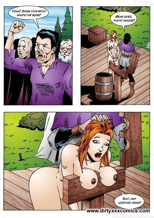 Porn Comix Superhero Porn Girl Is Captu Xxx Dessert Picture 5