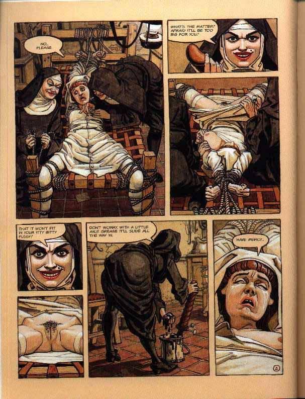 cartoon porn devil