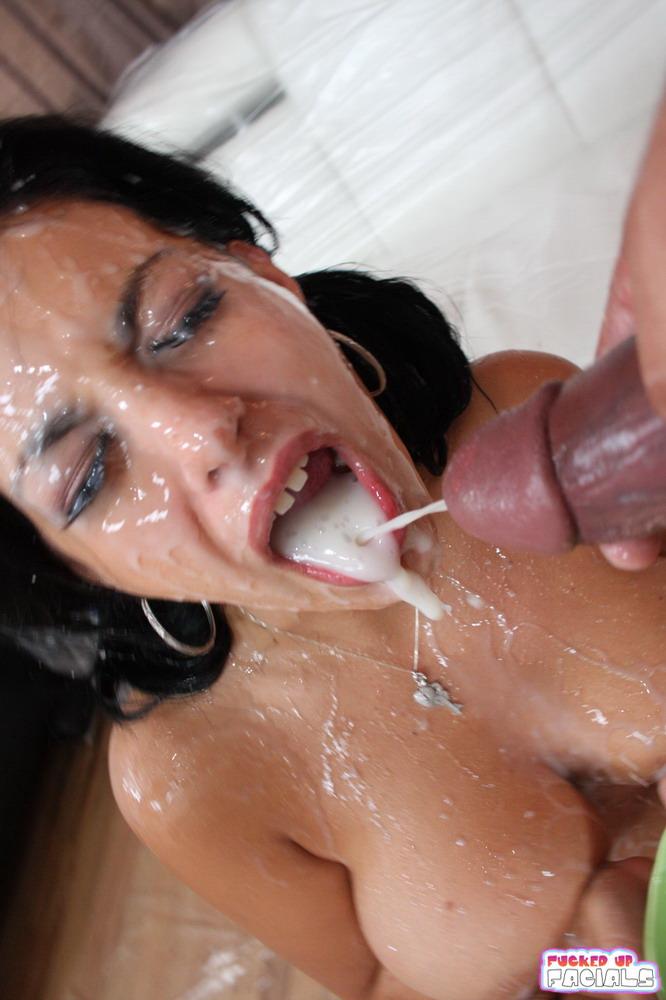 Порно вся в сперме видео сперма везде