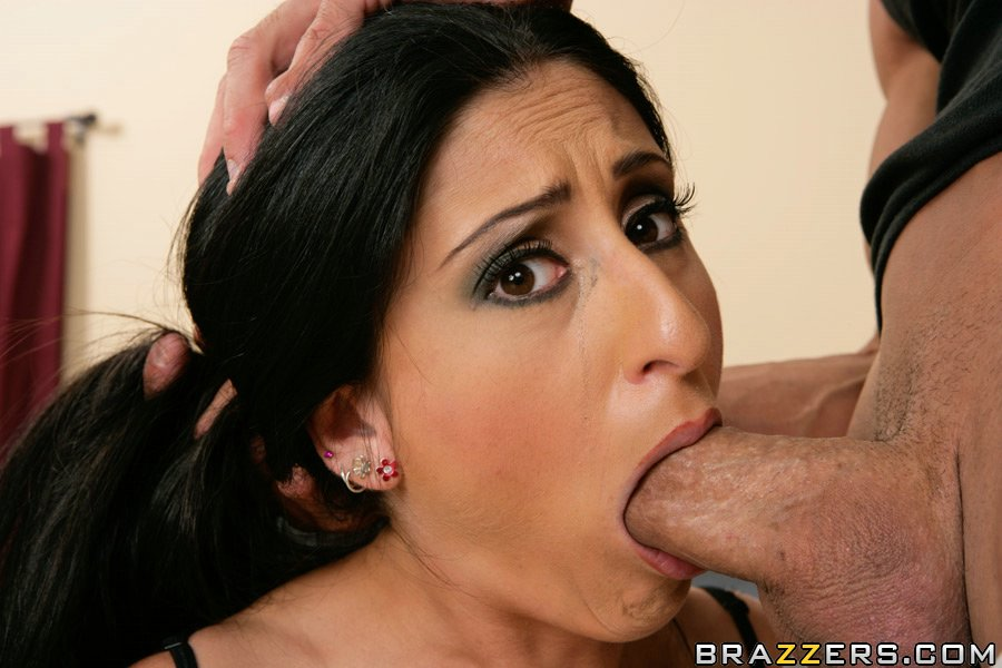Latina Babe With A Deep Throat Luscious Lopez Has Hardcore Anal Sex