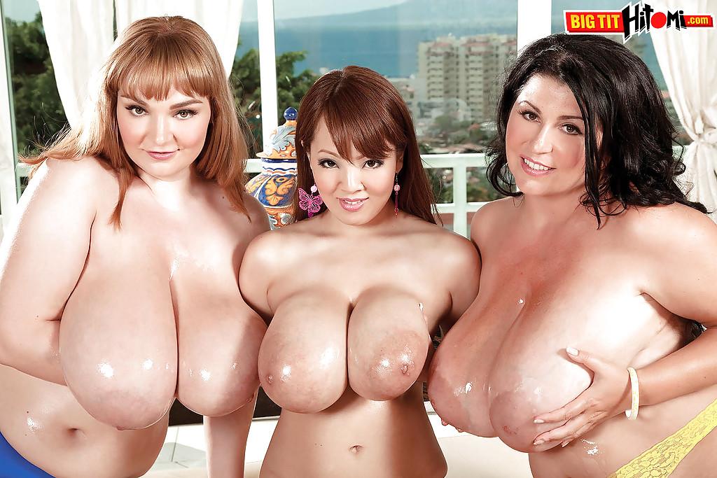 Big Tit Threesome Blonde