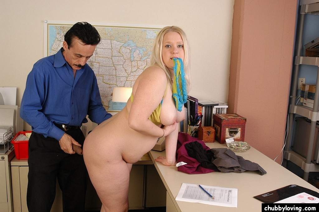 Obese Secretary Lisa Canon Seduces A Guy For Sex