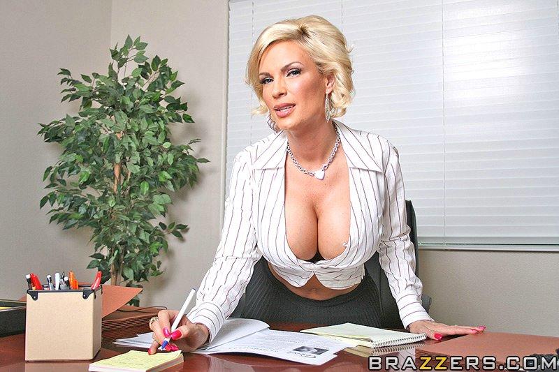 Diamond Foxxx Office Porn -