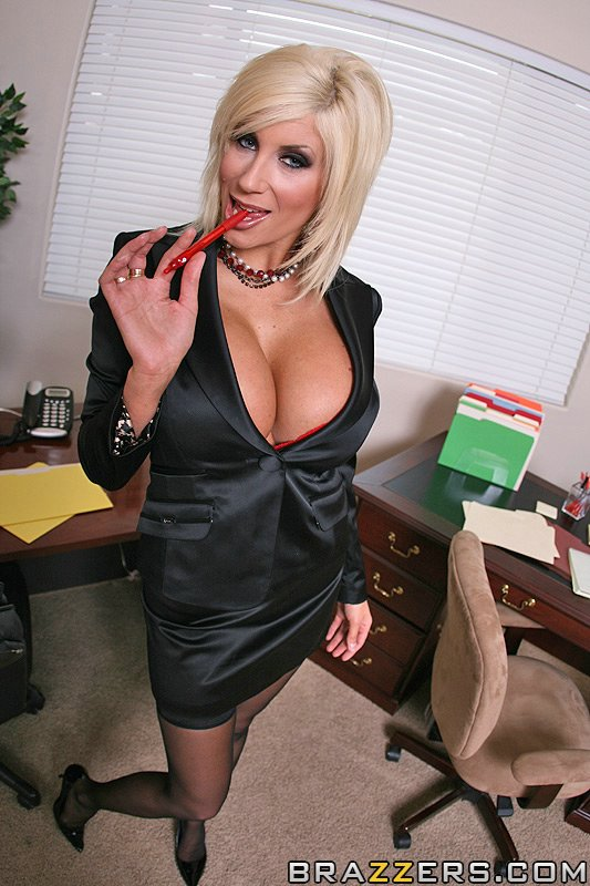 Puma Swede Big Tits At Work