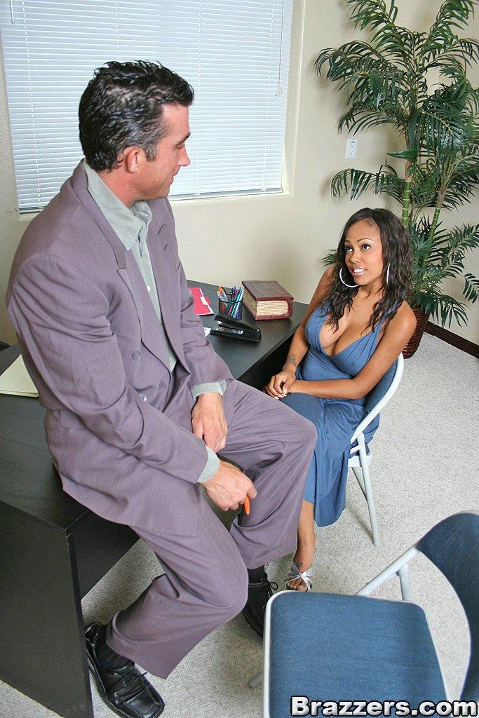 Big Tit Secretary Punished