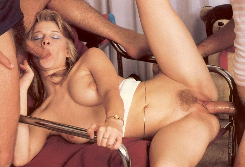 image German housewife fucked by two plumbers